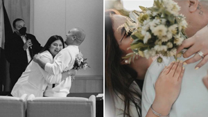 Angel Locsin And Neil Arce Were The Chillest Bride And Groom At Their Civil Wedding
