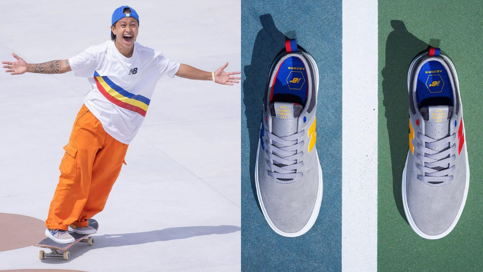 The Exact Cool Sneakers Margielyn Didal Wore At The Olympics
