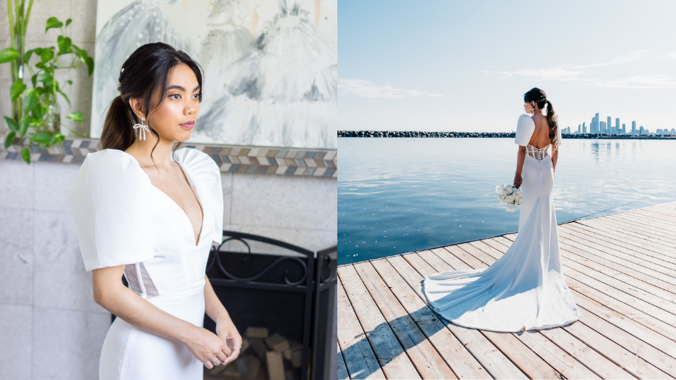 This Pinay Bride Made A Gorgeous Terno-inspired Gown For Her Own Wedding