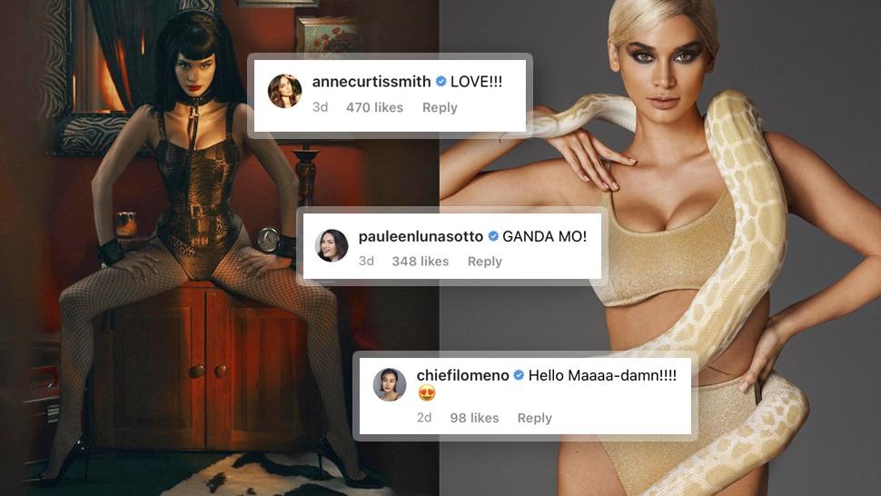 "Celebrities Are Blown Away By Pia Wurtzbach's ""dominatrix"" Photoshoot"