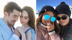The Biggest Engagement Rings We've Seen On Local Celebrities So Far