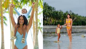 8 Times Danika Nemis And Her Daughter Luna Wore The Prettiest Matching Beach Ootds