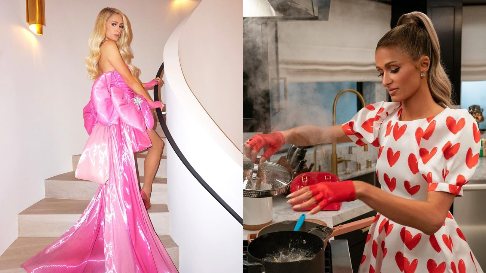 All the Fabulous Looks from Paris Hilton's Addictive New Cooking Show