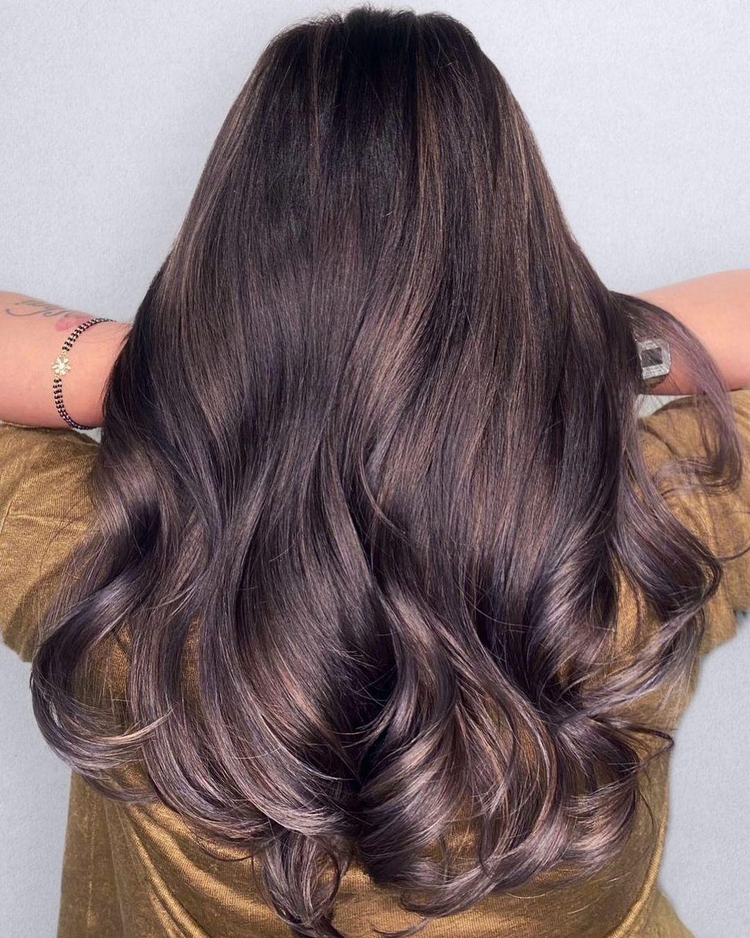 dark hair colors inspo