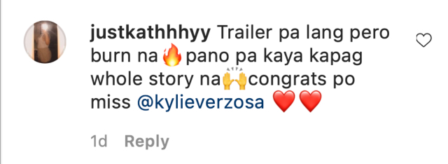 celebs react to kylie verzosa in the housemaid movie