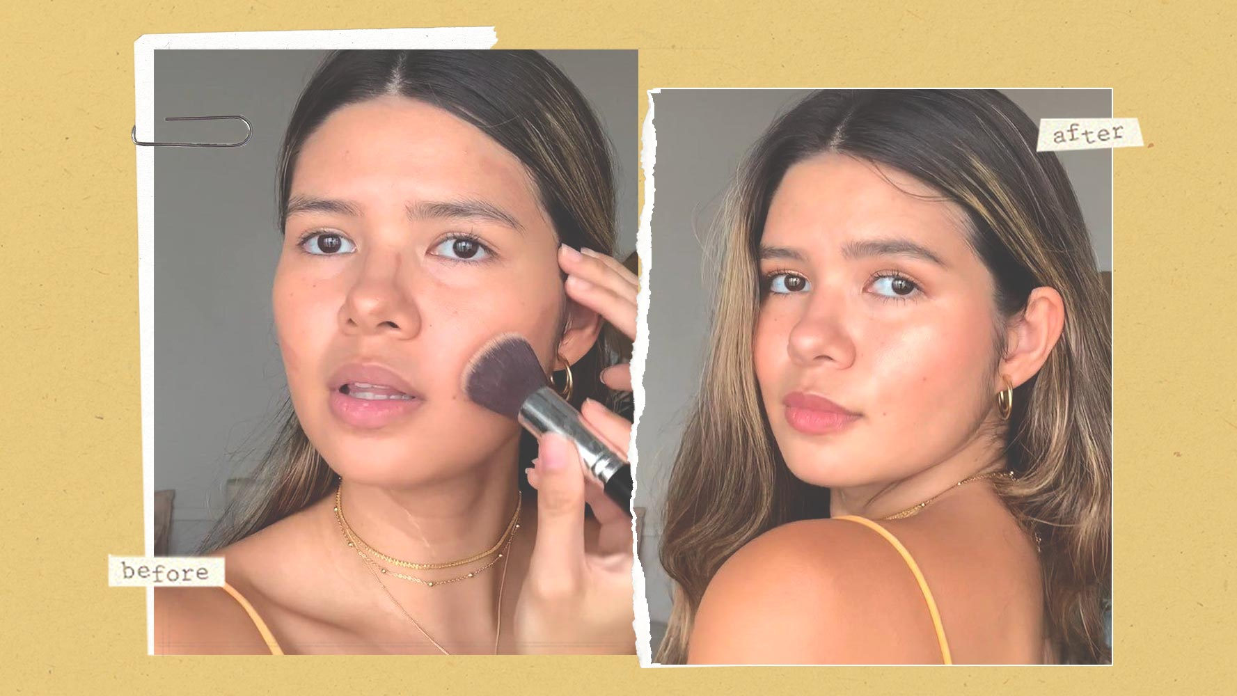 This Pinay Model Uses Lipstick To Contour And It Actually Works