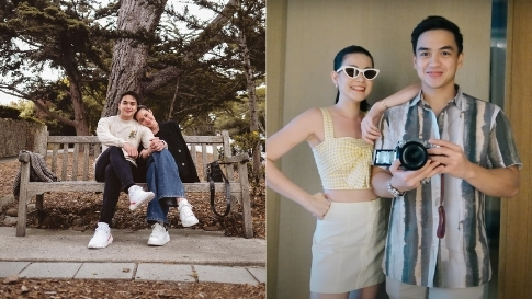 We Love Bea Alonzo And Dominic Roque's Perfectly Coordinated Ootds In Los Angeles