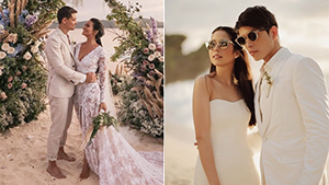 10 Gorgeous Beach Wedding Gown Styles To Consider, As Seen On Celebrities