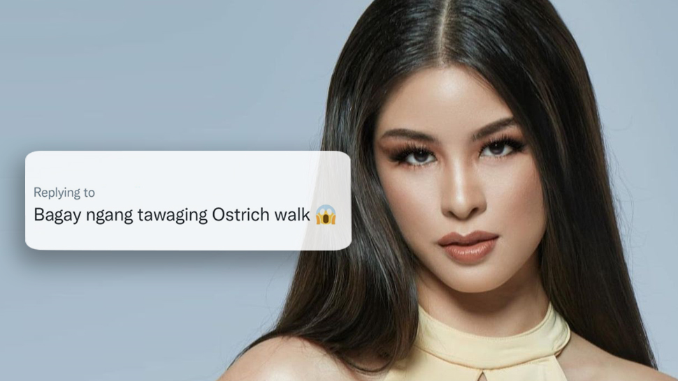 """The Internet Has Dubbed Kisses Delavin's Miss Universe Runway Walk As The """"ostrich Walk"""""""