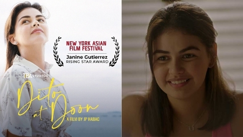 Janine Gutierrez Bags Rising Star Award At New York Asian Film Festival