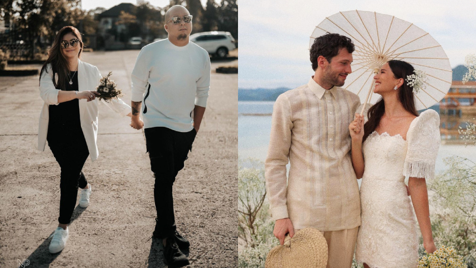 12 Celebrity Brides Who Chose To Keep It Simple On Their Wedding Day