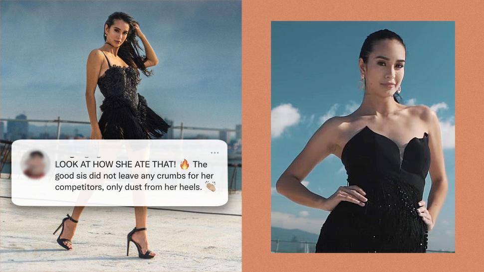"""The Internet Is Blown Away By Steffi Aberasturi's """"expressway Walk"""" For Miss Universe Ph"""