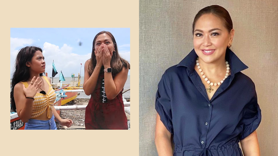 We Found The Exact Jumpsuit Karen Davila Wore In Her Viral Interview With Lyca Gairanod