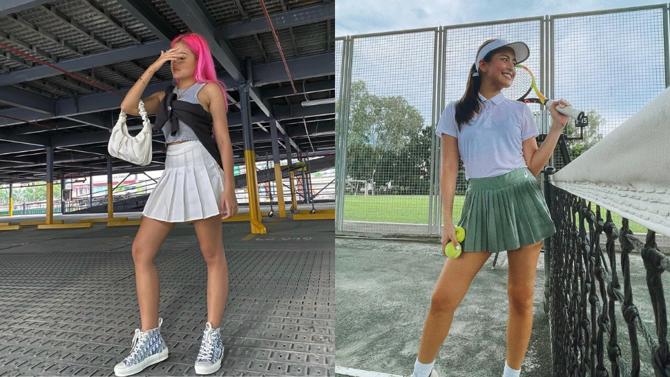 10 Cute, Influencer-approved Ways To Style Tennis Skirts
