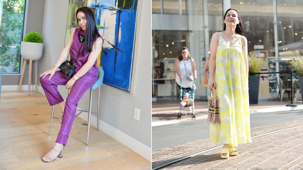 All Of Jinkee Pacquiao's Colorful Designer Ootds In Los Angeles