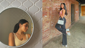 10 Aesthetic Ways To Pose With An Instagrammable Wall, As Seen On Andrea Brillantes