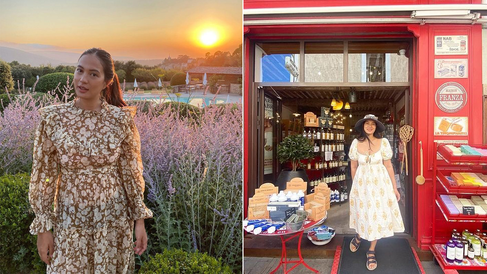 We Found The Exact Dainty And Laidback Summer Dresses From Isabelle Daza's Ootds In France