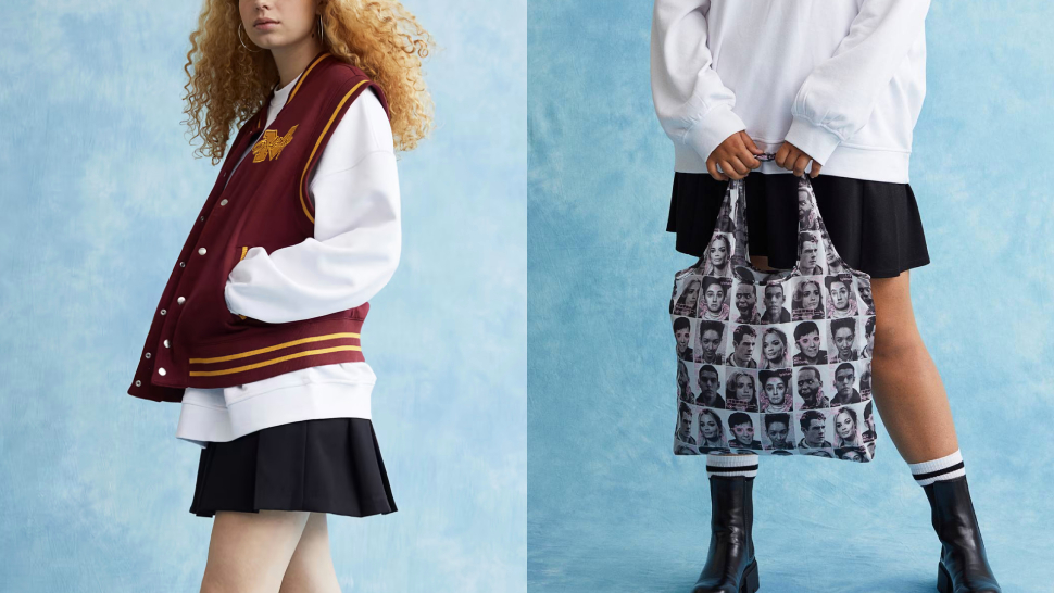 H&m Teamed Up With Netflix To Create A Sex Education-themed Collection