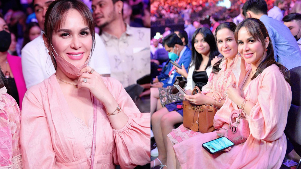Jinkee Pacquiao's All-pink Ringside Ootd Costs A Jaw-dropping P2.2 Million