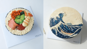 You'll Love All The Quirky, Artisan Cakes From This Korean-inspired Bakeshop