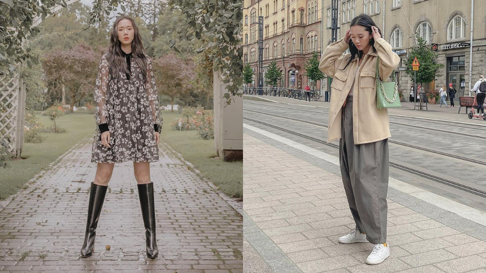 We're In Love With Camille Co's Cozy, Dainty Travel OOTDs in Finland