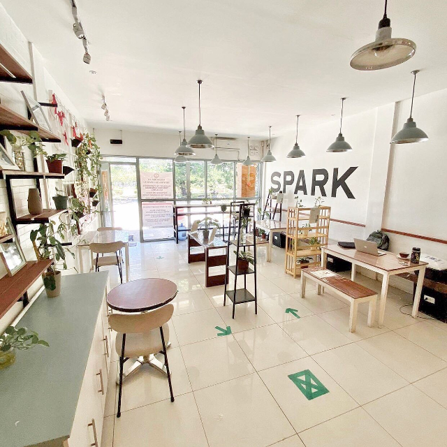 spark cafe davao
