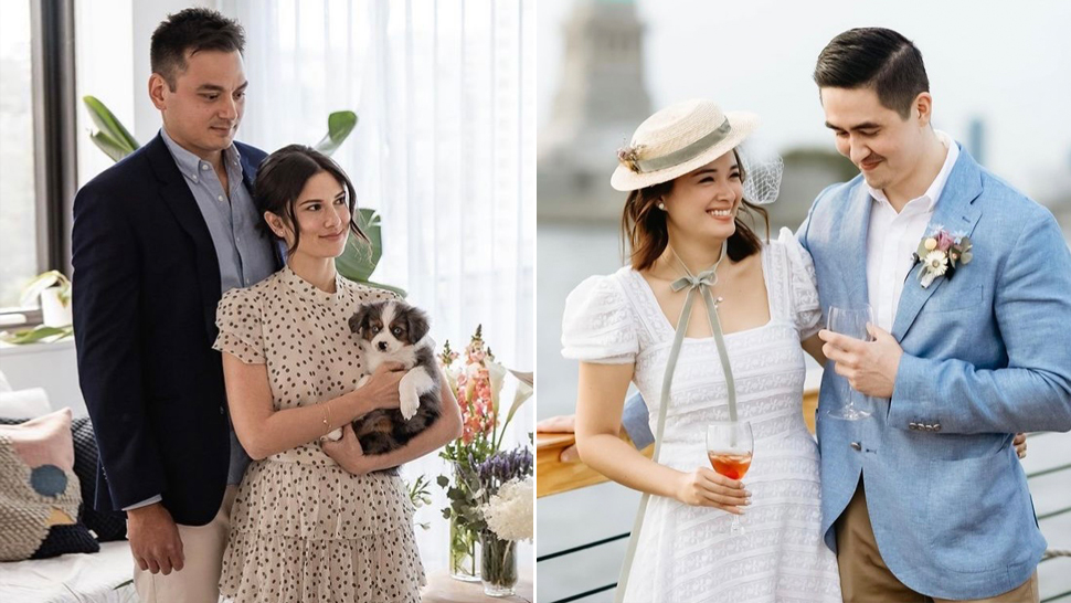 These Casual Wedding Dresses Worn By Local Celebrities Prove You Don't Need To Be Extravagant