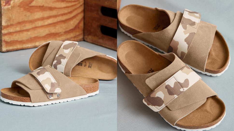 You'll Love The Neutral, Camo-inspired Pairs From Birkenstock's New Collection