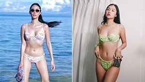 We Found The Exact Local Swimwear Brand Celebrities Love For Fun Printed Bikinis
