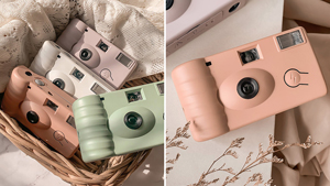 These Aesthetic Film Cameras Come In Pretty Pastel Colors