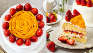 Can't Choose Between Mango Or Strawberry? This Dreamy Cake Has Both