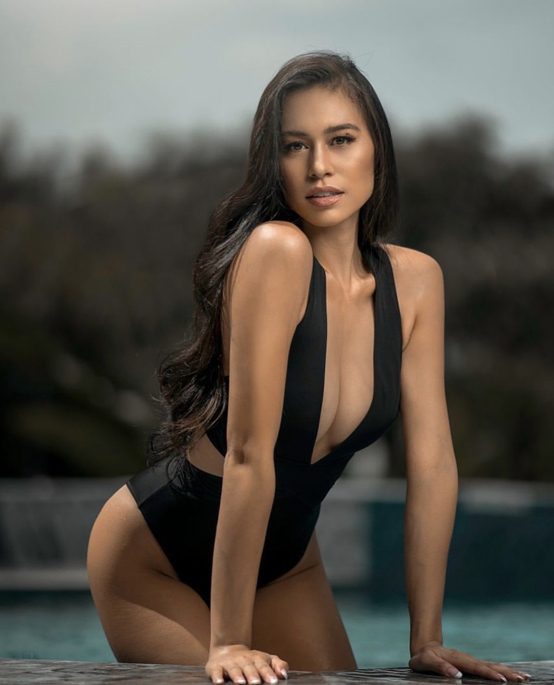 sultry black swimsuits as seen on the miss universe philippines 2021 top 10