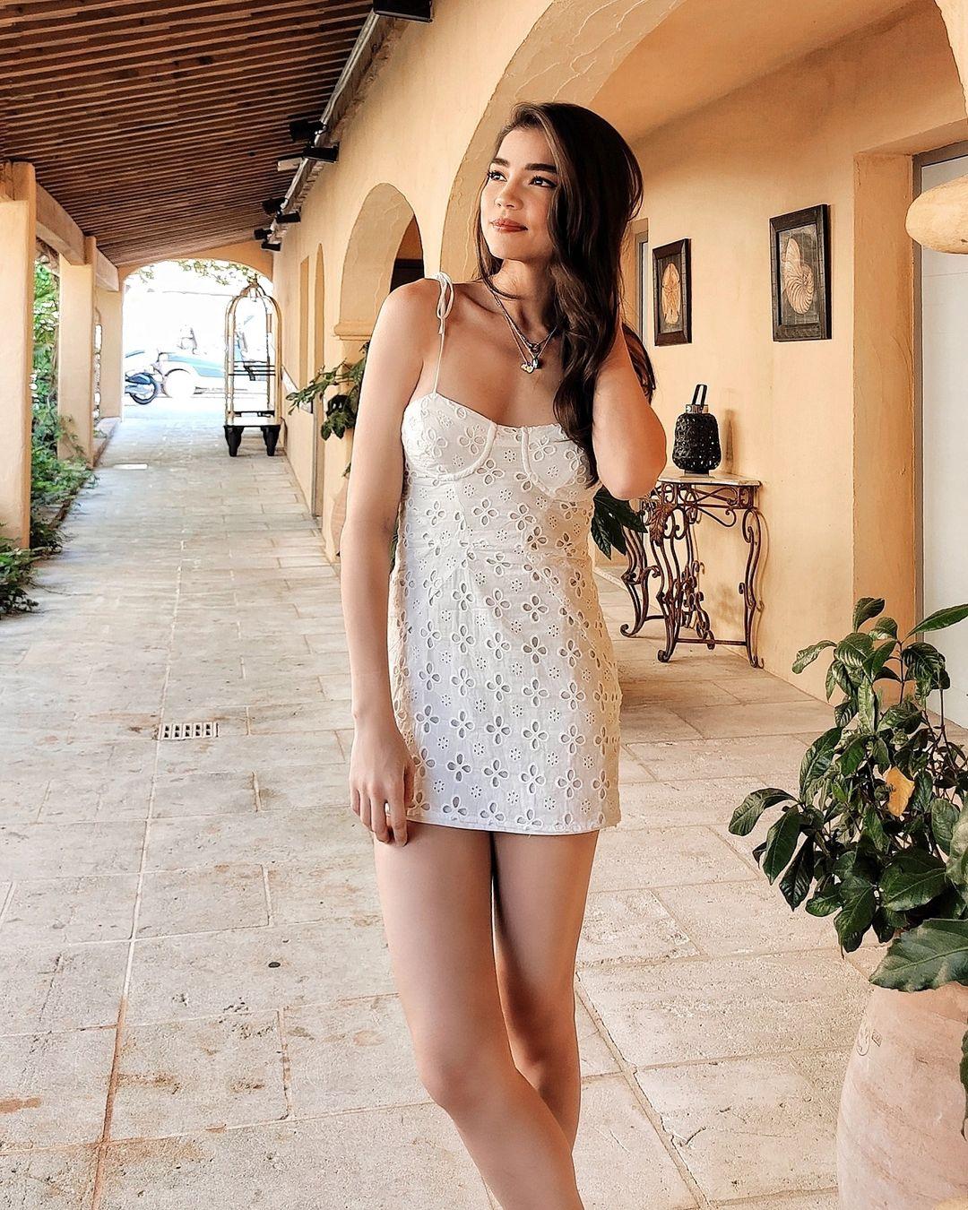 spaghetti strap dress celebrity outfit roundup
