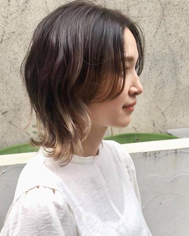 curtain bangs short hair