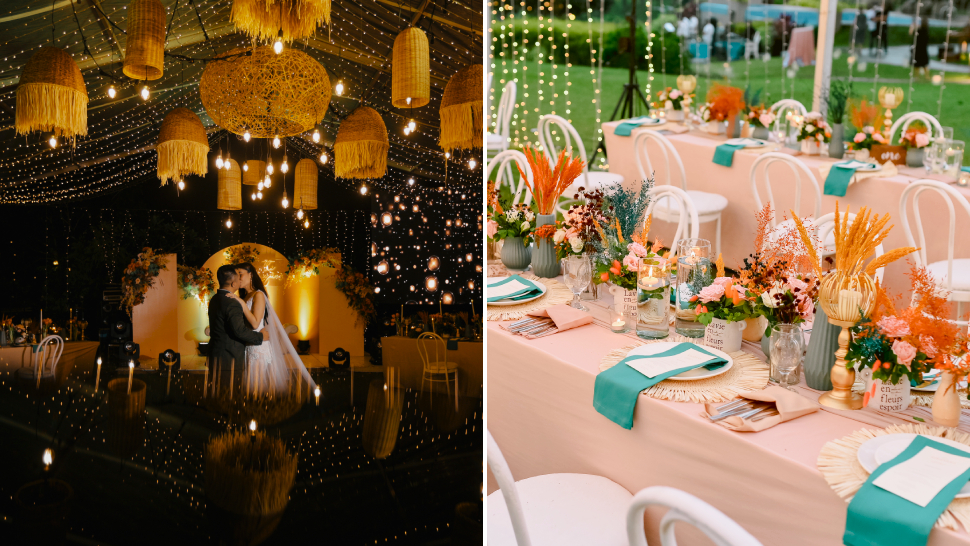This Dreamy Wedding Looks Straight Out Of A Pastel-hued Fairy Tale