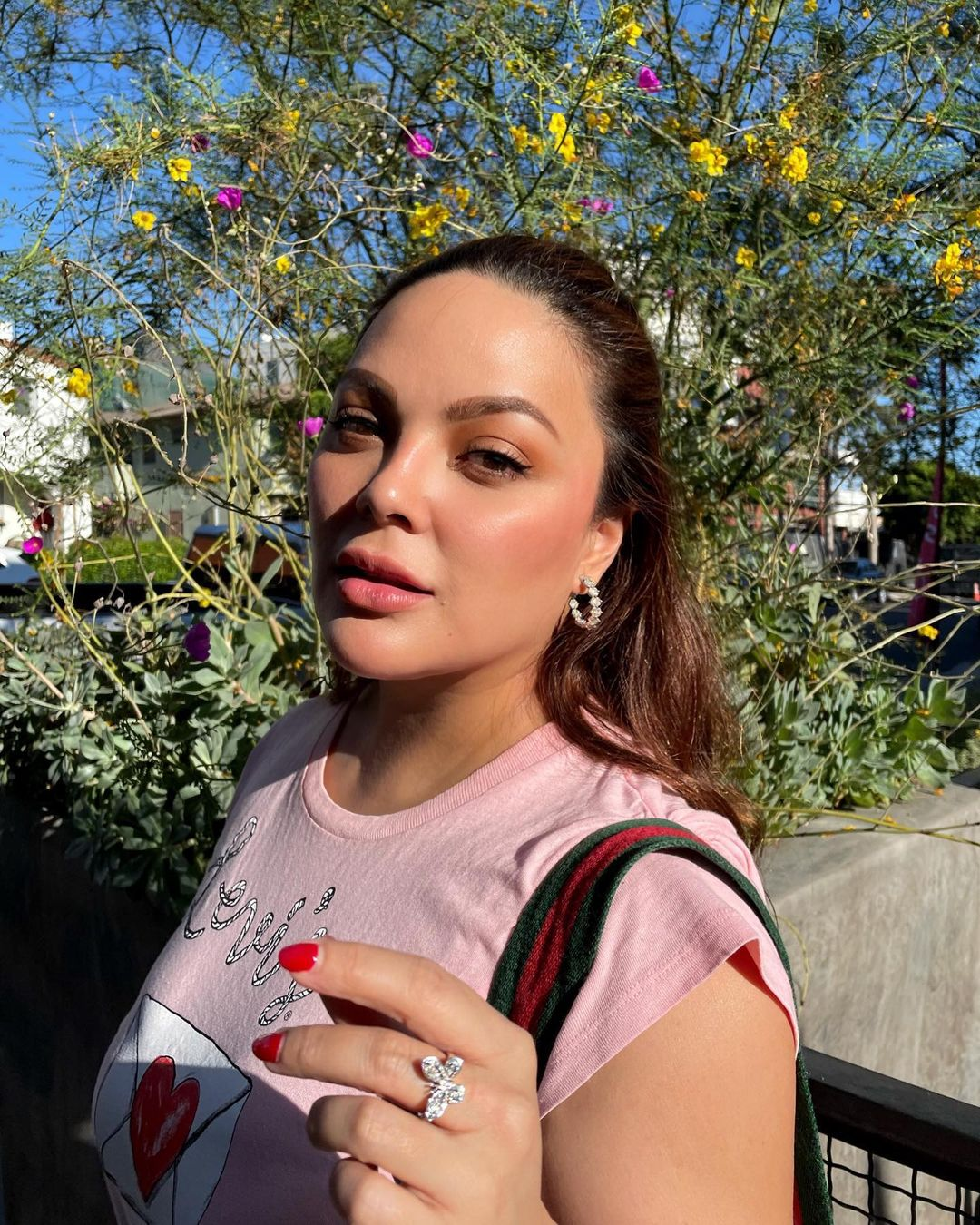 kc concepcion's outfits in los angeles
