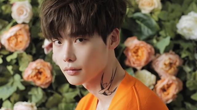 lee jong suk tattoo