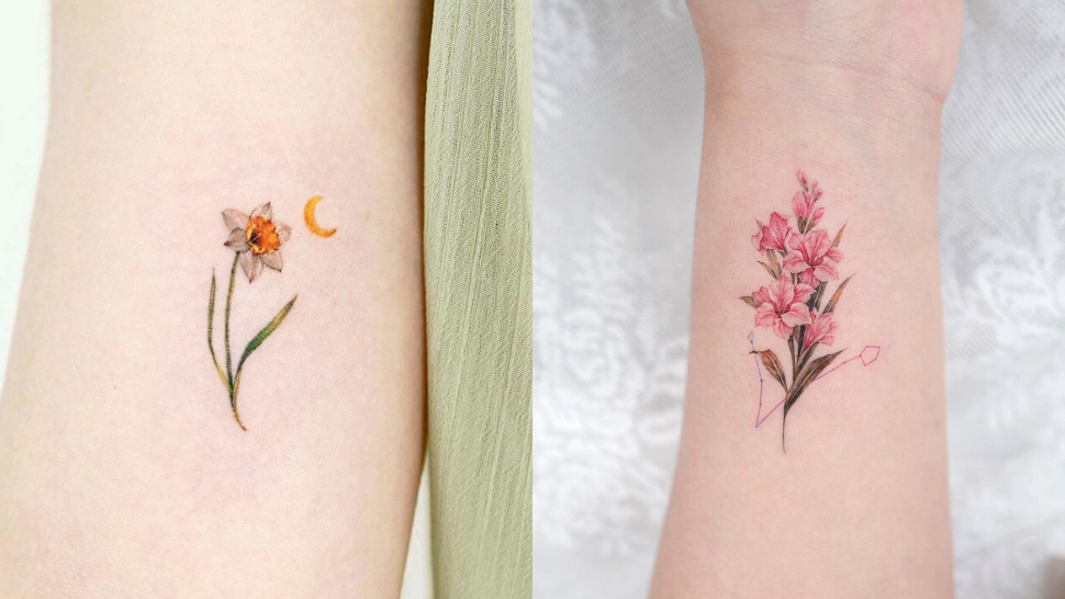 12 Birth Month Flower Tattoo Design Ideas For Your First Ink