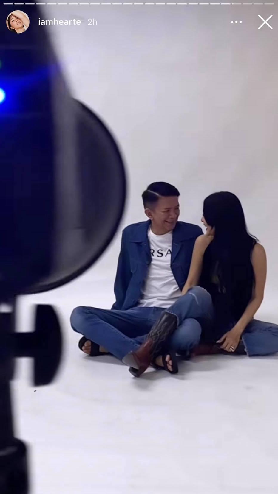 heart evangelista and chiz escudero couple photoshoot
