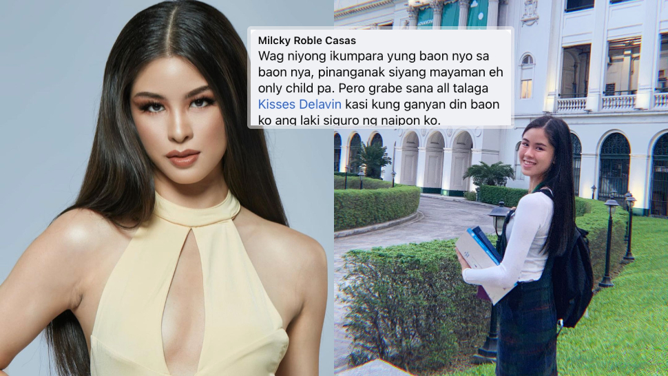 """The Internet Is Torn About Kisses Delavin's """"p1000 Baon"""" During Her Schooling Days"""