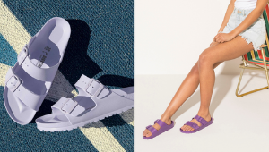 All The Pretty Purple Birkenstock Sandals You'll Want Inside Your Shoe Closet