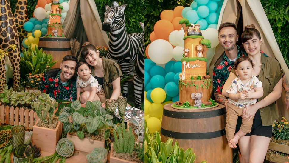 Coleen Garcia And Billy Crawford Threw The Cutest Safari-themed Party For Their Son's Birthday