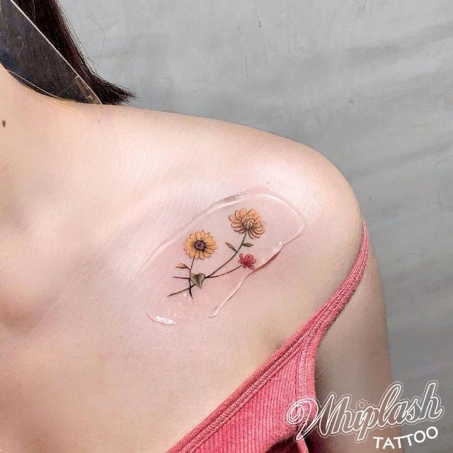 collarbone tattoo designs