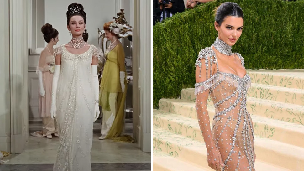 """Did You Know? Kendall Jenner's Met Gala Outfit Was Inspired By Audrey Hepburn In """"my Fair Lady"""""""