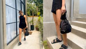 Kathryn Bernardo's Casual All-black Ootd Costs Over P100,000
