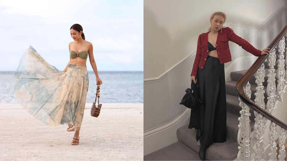 8 Chic And Eye-catching Ways To Style A Long Skirt