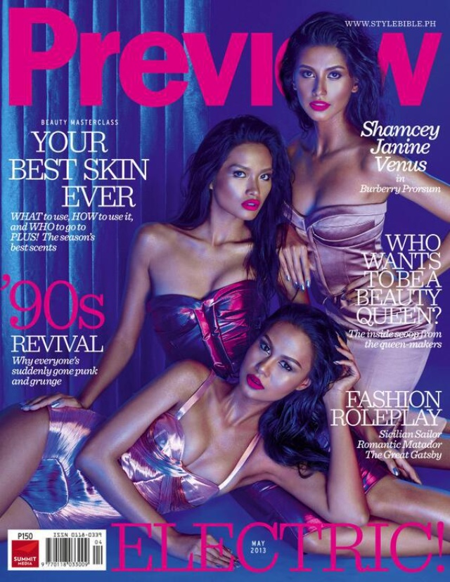 preview cover miss universe philippines