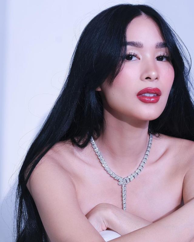 heart evangelista's bvlgari serpenti viper necklace