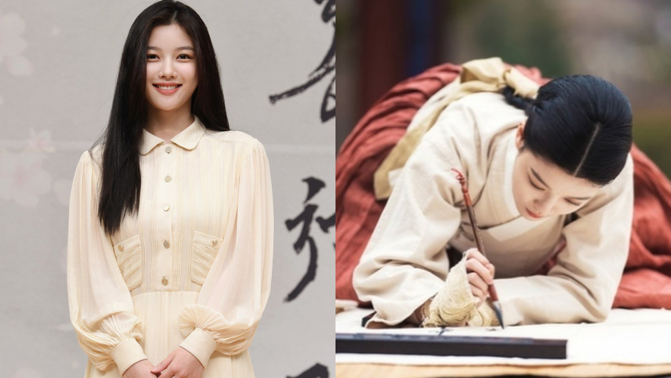 """Did You Know? Kim Yoo Jung Learned Korean Painting For Her Role In """"Lovers Of The Red Sky"""""""