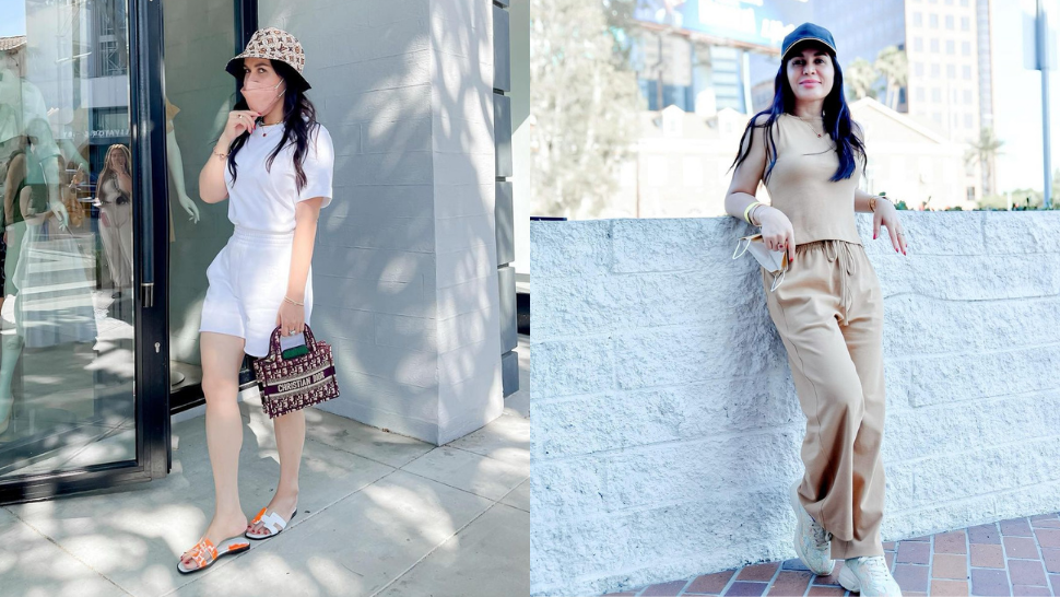 All Of Jinkee Pacquaio's Neutral Designer Ootds In Los Angeles